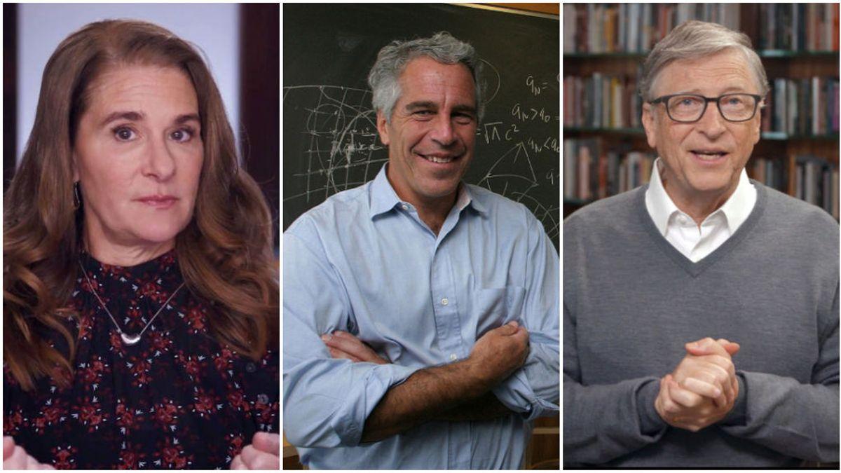"""El matrimonio """"irremdiablemente roto"""" de Melinda y Bill Gates desde 2019 por culpa de Jeffrey Epstein"""