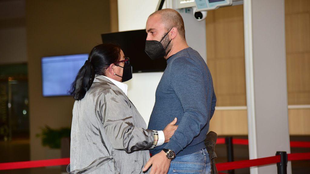 María del Monte y su sobrino, Antonio Tejado, rotos por la muerte de Juan Carlos Tejado