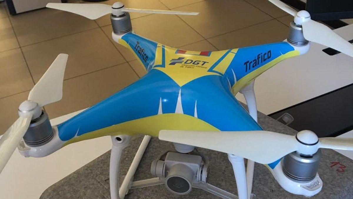 Los drones de la DGT son menos efectivos de lo que se piensa para poner multas: te explicamos por qué