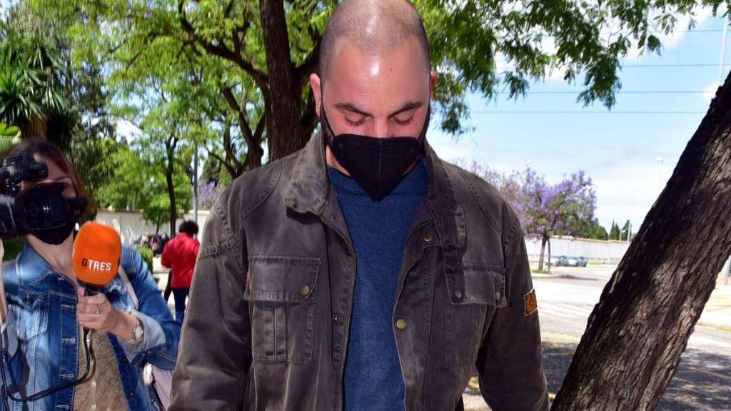 Antonio Tejado, abatido en el tanatorio