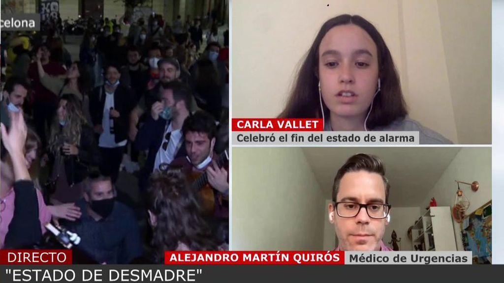 Carla Vallet y Alejandro Martín Quirós