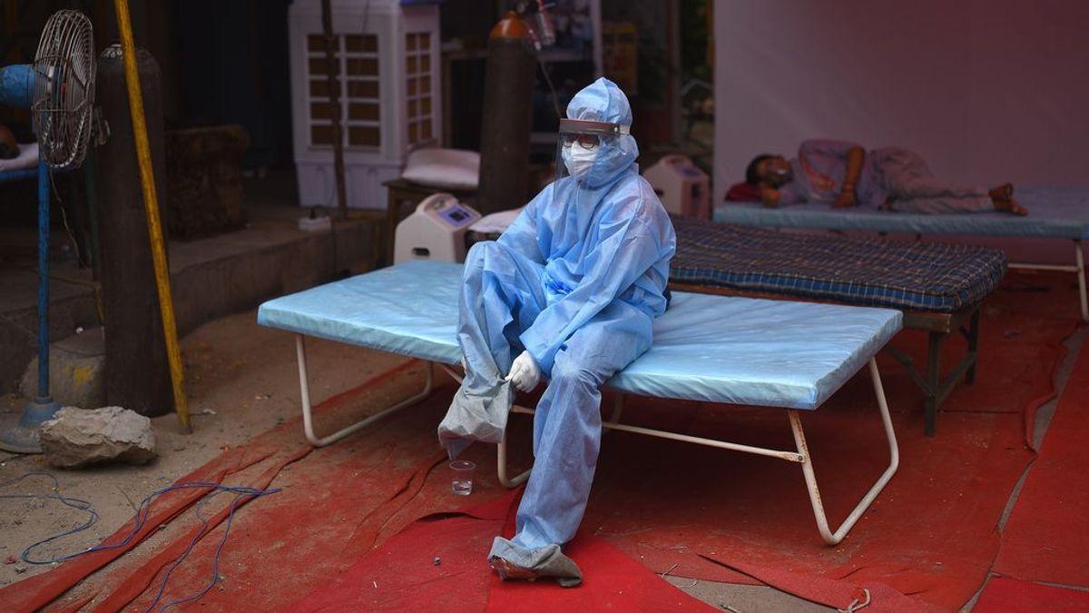 Llega a India el material médico para el covid enviado por España