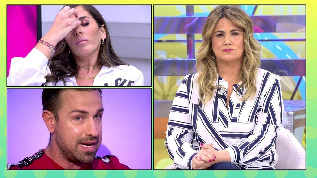 Carlota Corredera y Rafa Mora