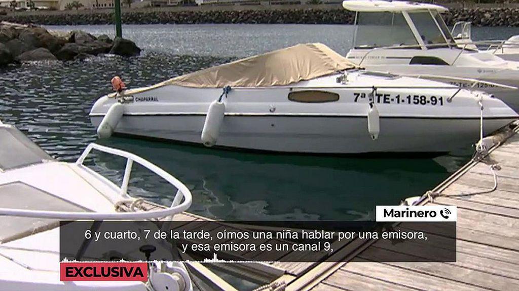 Un marinero asegura haber escuchado a un bebé en la emisora el día de la desaparición de Ana y Olivia