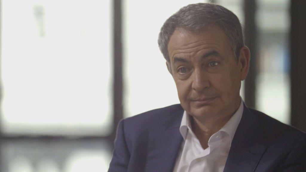 Zapatero, en el programa