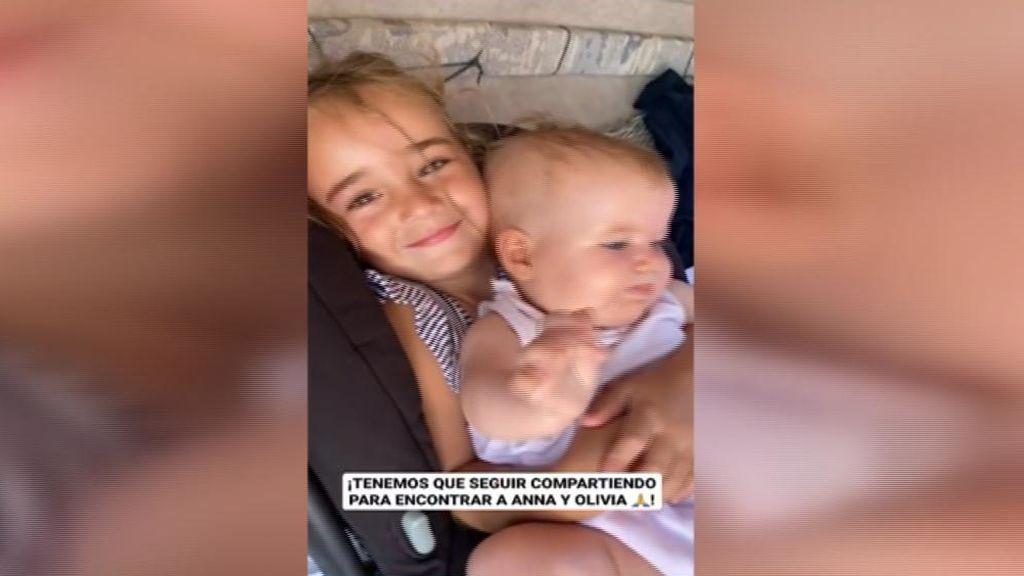 La madre de Anna y Olivia difunde nuevas imágenes de las niñas desaparecidas en Tenerife