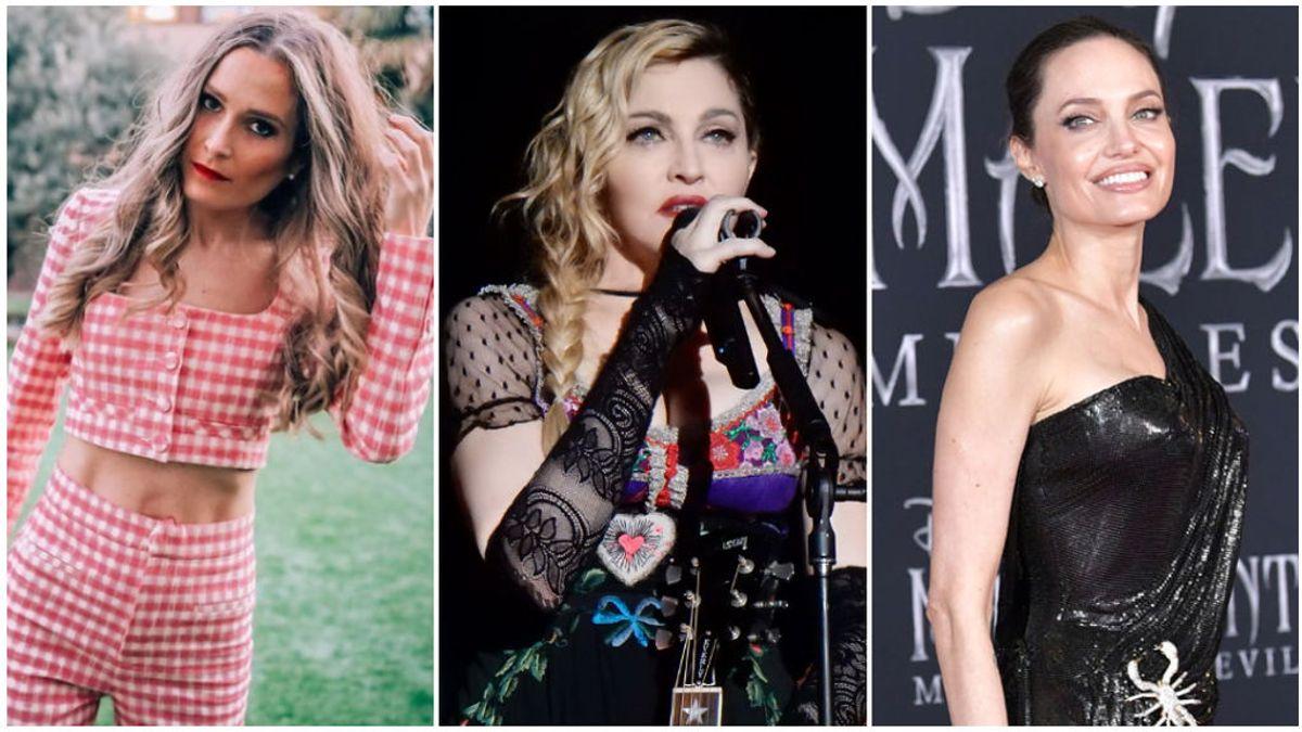 Famosas con más de cinco hijos: desde Verdeliss hasta Madonna, pasando por Angelina Jolie.