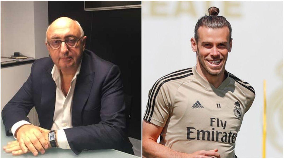 """El agente de Bale: """"Tengo muchas dudas sobre si tiene futuro en el Real Madrid"""""""