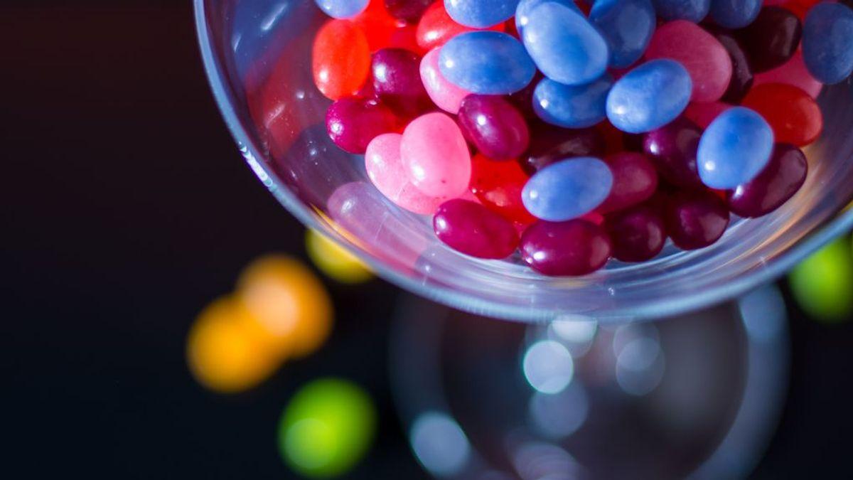 dulces dioxido titanio