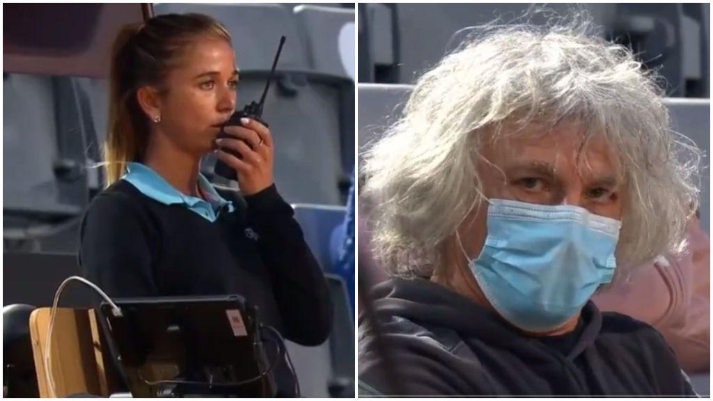 """Una juez de silla pide ayuda ante el acoso del padre de la tenista Camila Giorgi: """"Tengo miedo"""""""