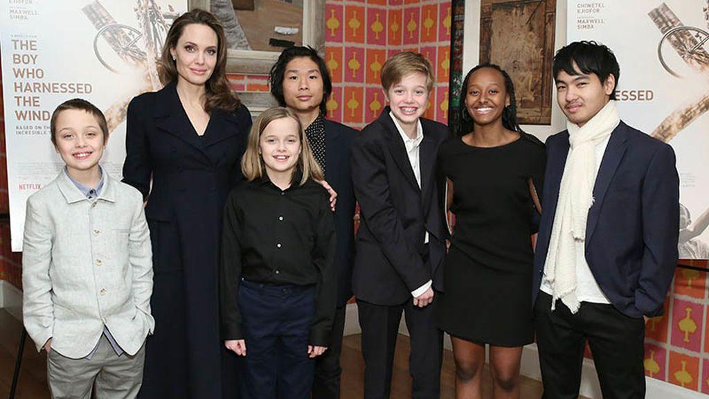 Angelina ha adoptado a tres de sus hijos.