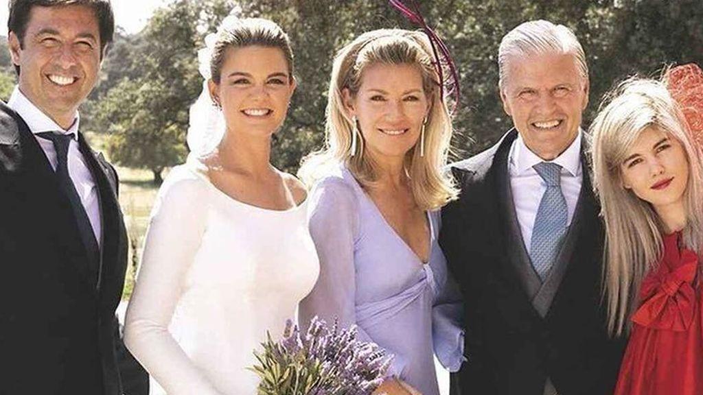 La boda de la hija de Espartaco y Patricia Rato, en fotos