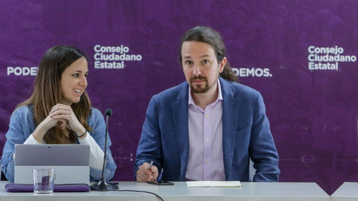 La ministra Ione Belarra presenta su candidatura a la Secretaría General de Podemos