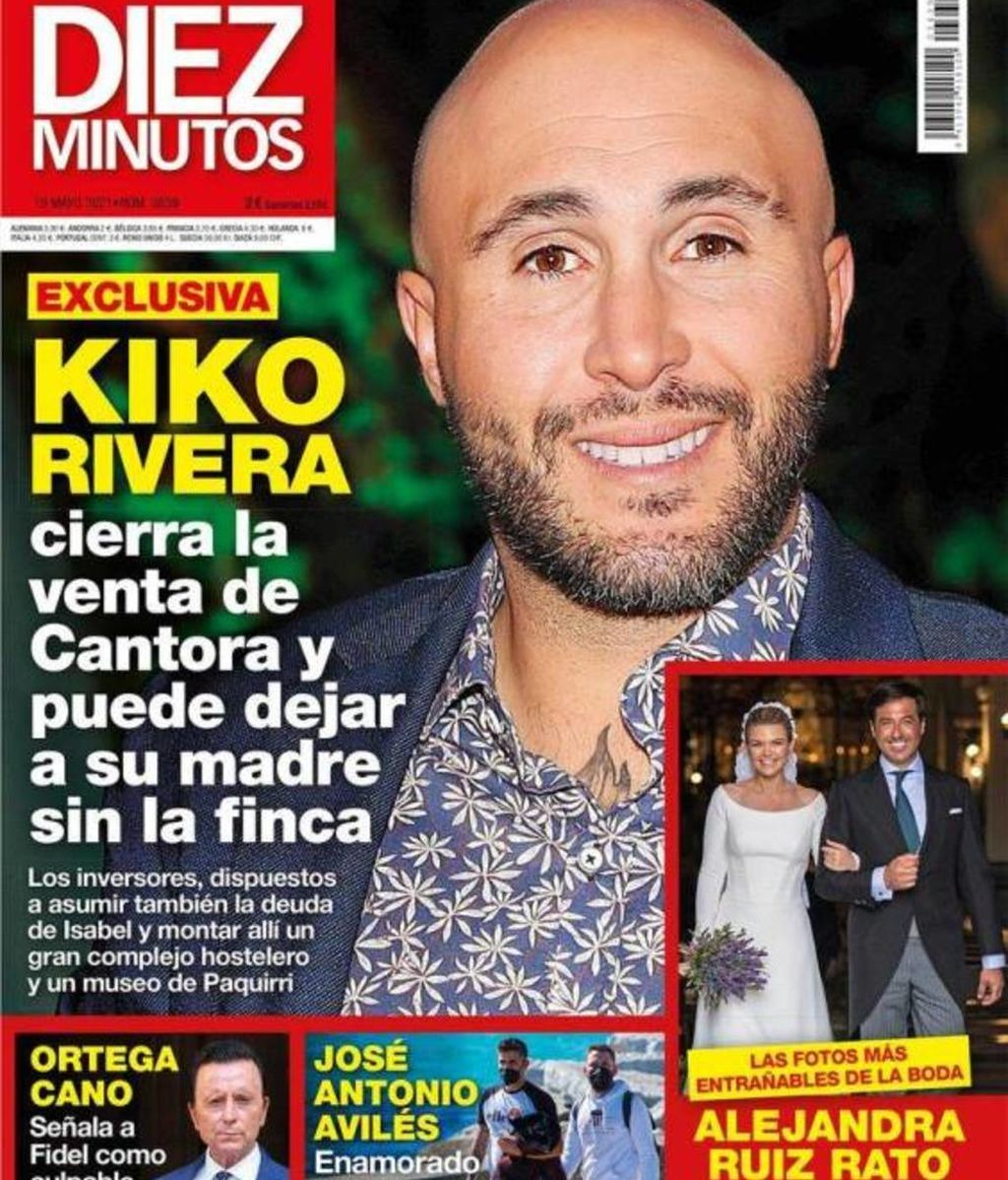 Kiko Rivera vende Cantora, según Diez Minutos