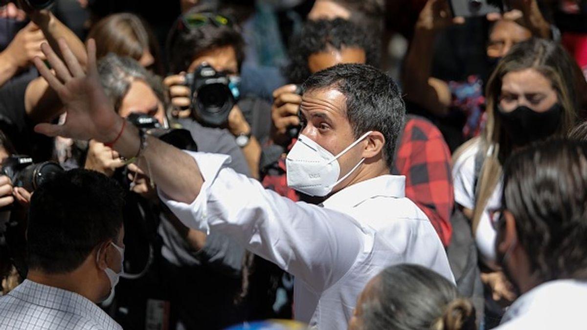 """EEUU apoya la propuesta de Guaidó para """"restaurar la democracia"""" en Venezuela"""