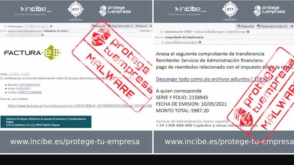 El Instituto de Ciberseguridad alerta de emails con 'malware' que suplantan a Economía y al Banco de España