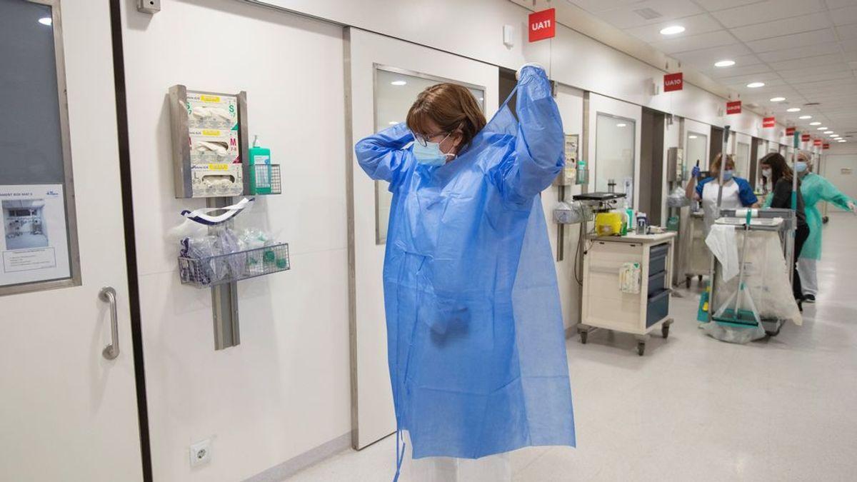 Sanidad añade 108 muertos y los hospitalizados bajan a 7.696