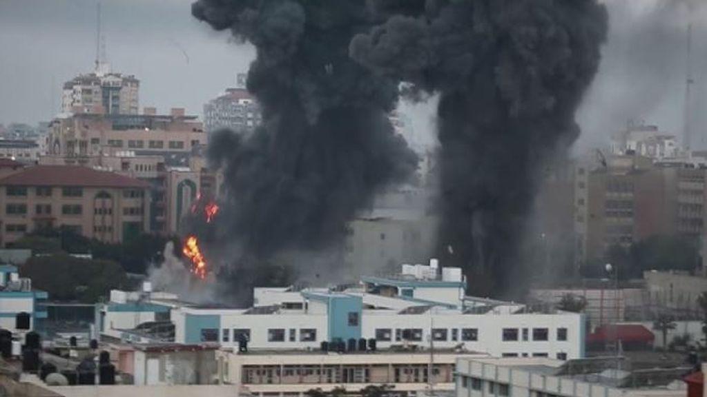 La ofensiva israelí en Gaza deja al menos 43 palestinos muertos, 13 de ellos niños