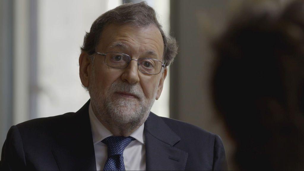 Mariano Rajoy, con Sonsoles Ónega.