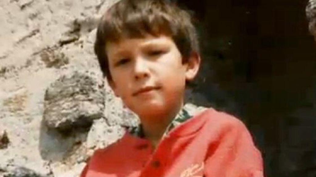 Pablo Iglesias, de niño