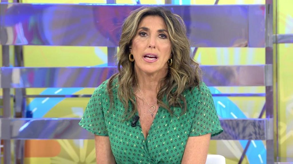 Paz Padilla, enfadada con Rafa y Anabel