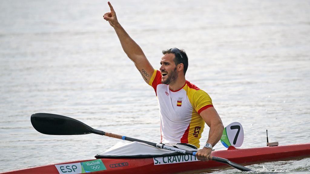Saúl Craviotto: piragüista, cocinero, policía, padre... y abanderado olímpico