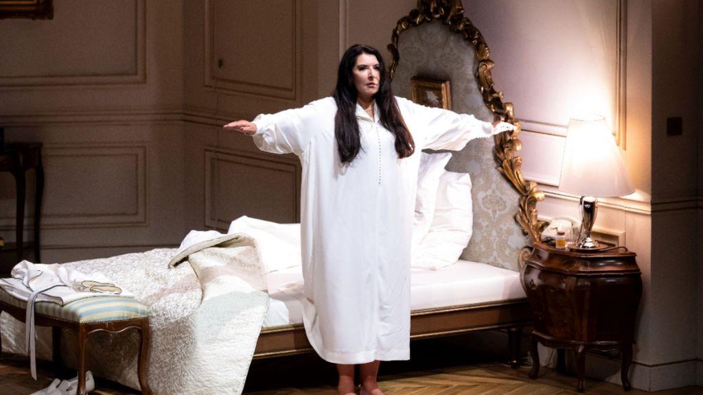 Marina Abramovic, en la obra 'Seven Deaths of Maria Callas'