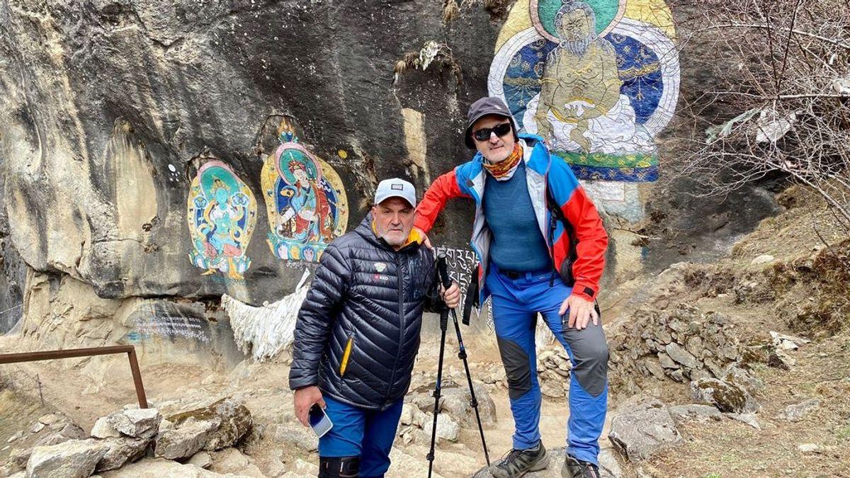 Juanito Oiarzábal y Sebastián Álvaro pide ayuda a las autoridades españolas para salir de Katmandú