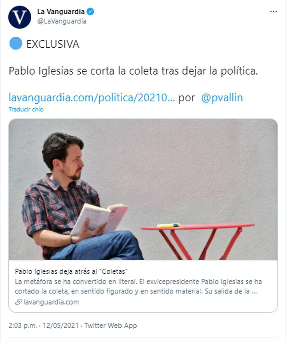 Moño, suelto o en coleta: momentos para el recuerdo del pelo largo de Pablo Iglesias