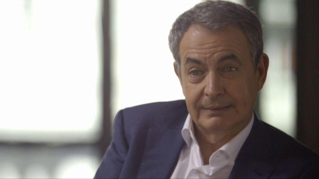 """El expresidente Zapatero rememora el 15-M: """"Nunca interpreté la protesta como una crítica contra mi Gobierno"""""""