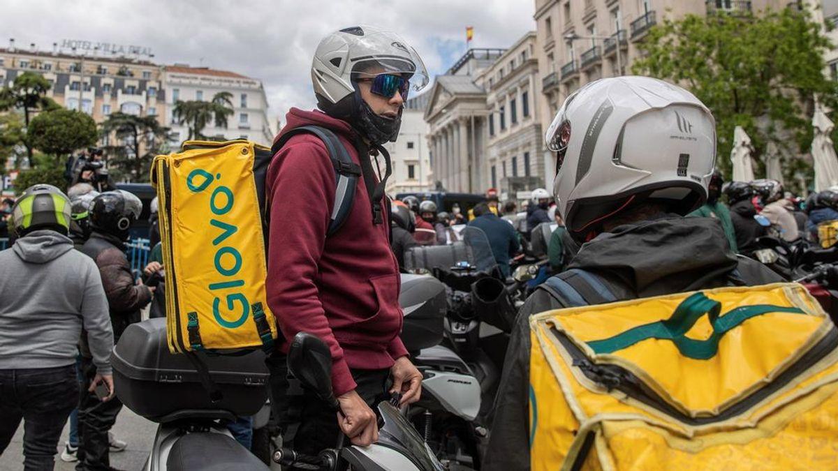 Perfil de los 'riders' que trabajan en España: carrera universitaria y extranjeros
