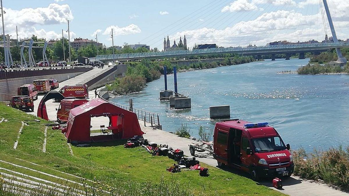 Hallan el cadáver del menor desaparecido en el río Ebro