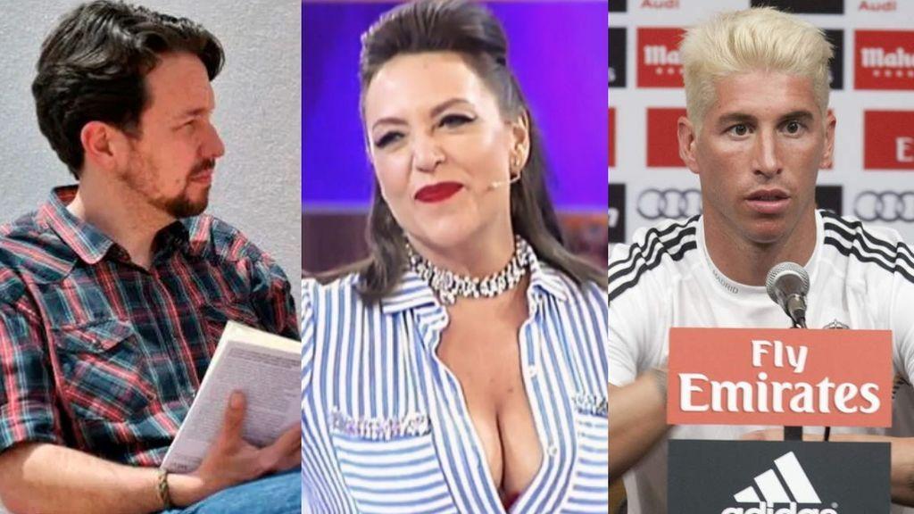 El de Pablo Iglesias y otros emblemáticos cambios de look
