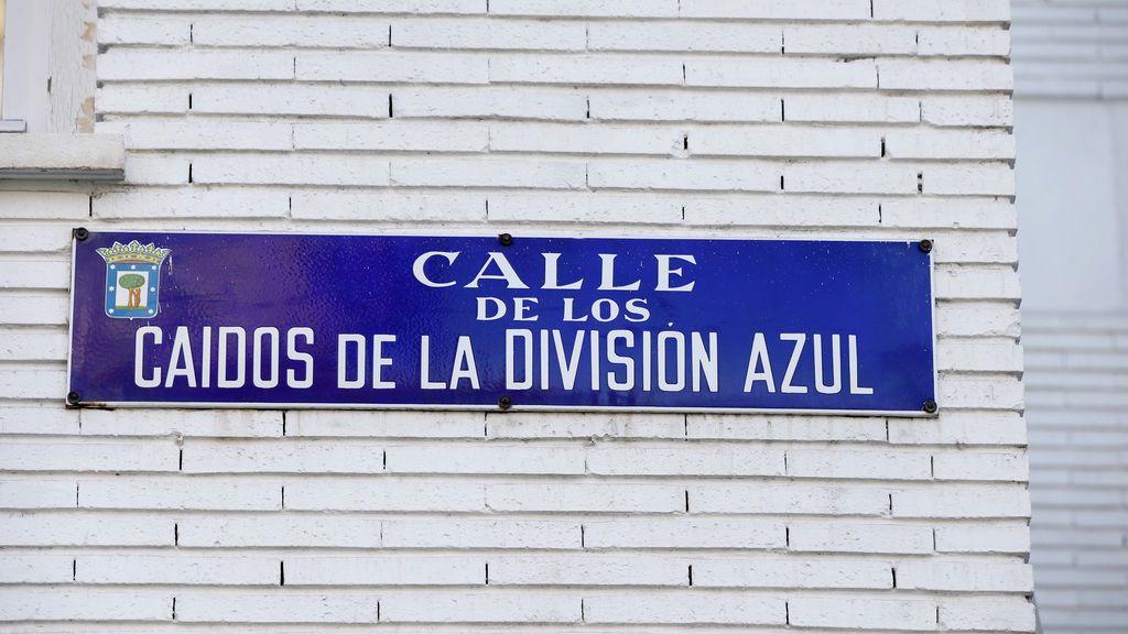 La justicia de Madrid mantiene la calle Caídos de la División Azul