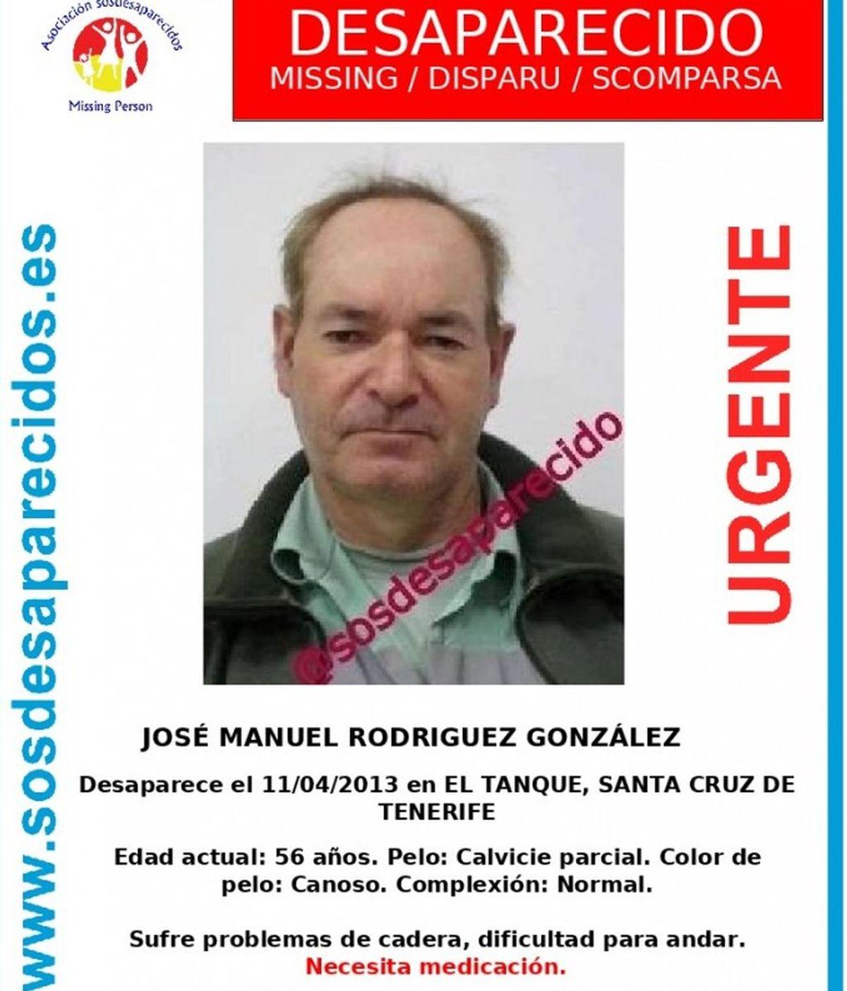 Encuentra el cuerpo sin vida de José Manuel Rodríguez González