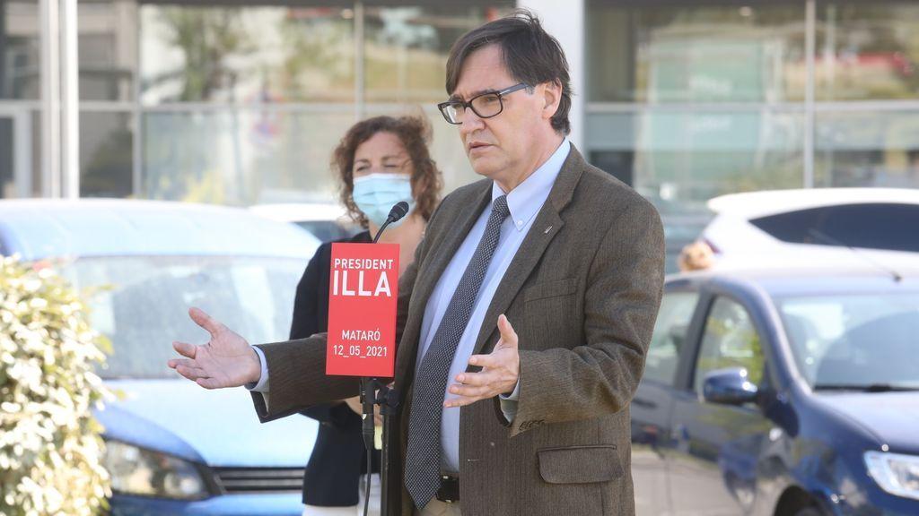 Illa da por fracasada la vía de ERC y pide apoyo para formar un Gobierno de izquierdas en Cataluña