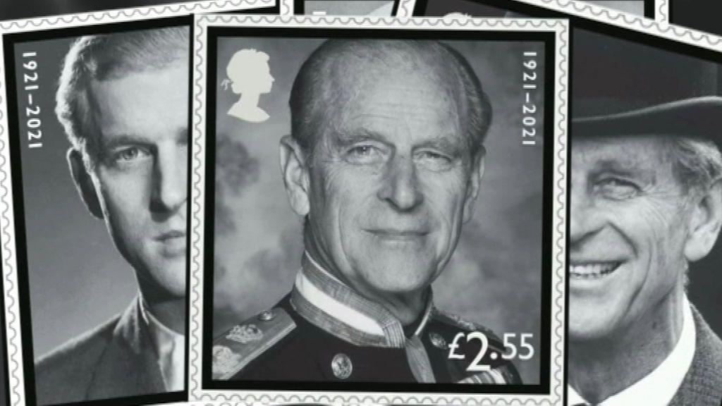 The Royal Mail lanza una colección de sellos en memoria del duque de Edimburgo