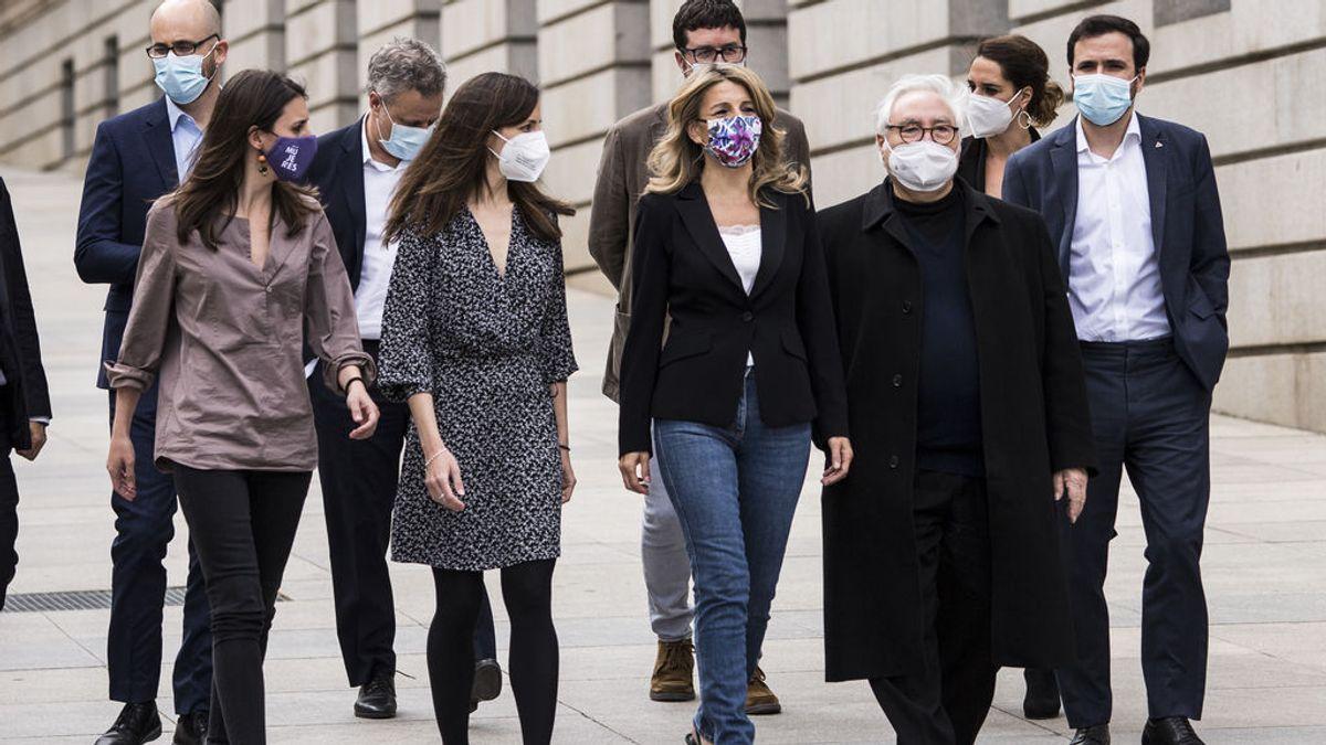 """Yolanda Díaz apuesta por un liderazgo tranquilo en Podemos tras la salida de Iglesias: """"No somos gente de ruido"""""""