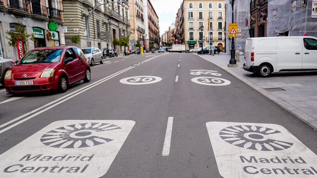 Paralizadas provisionalmente las multas en Madrid Central
