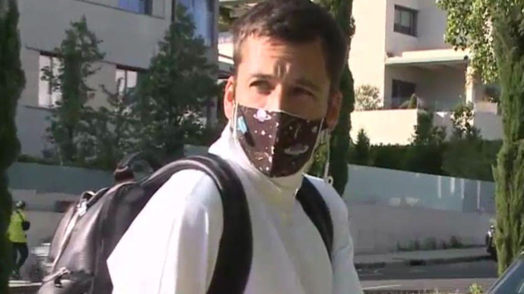 """Benji estalla contra la prensa: """"No grabéis que está el niño"""""""