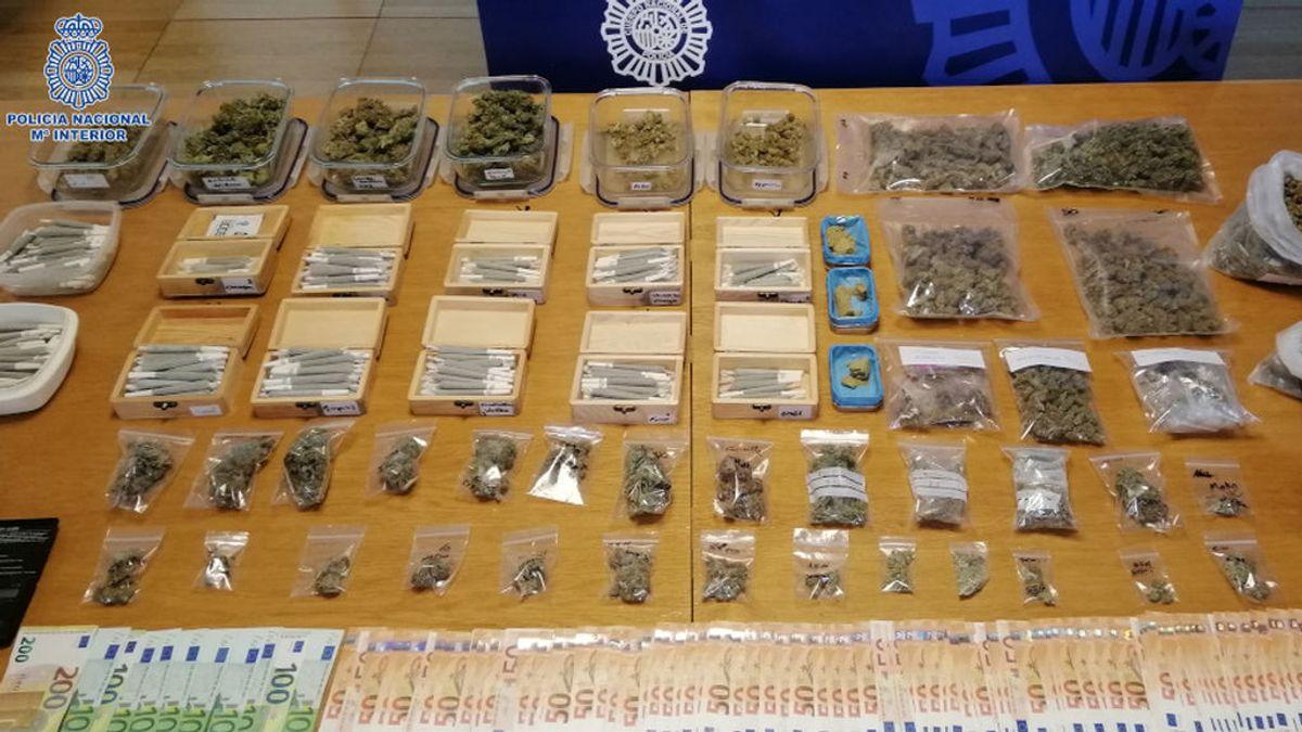 Disuelven una asociación cannábica de Pontevedra porque sus directivos vendían droga