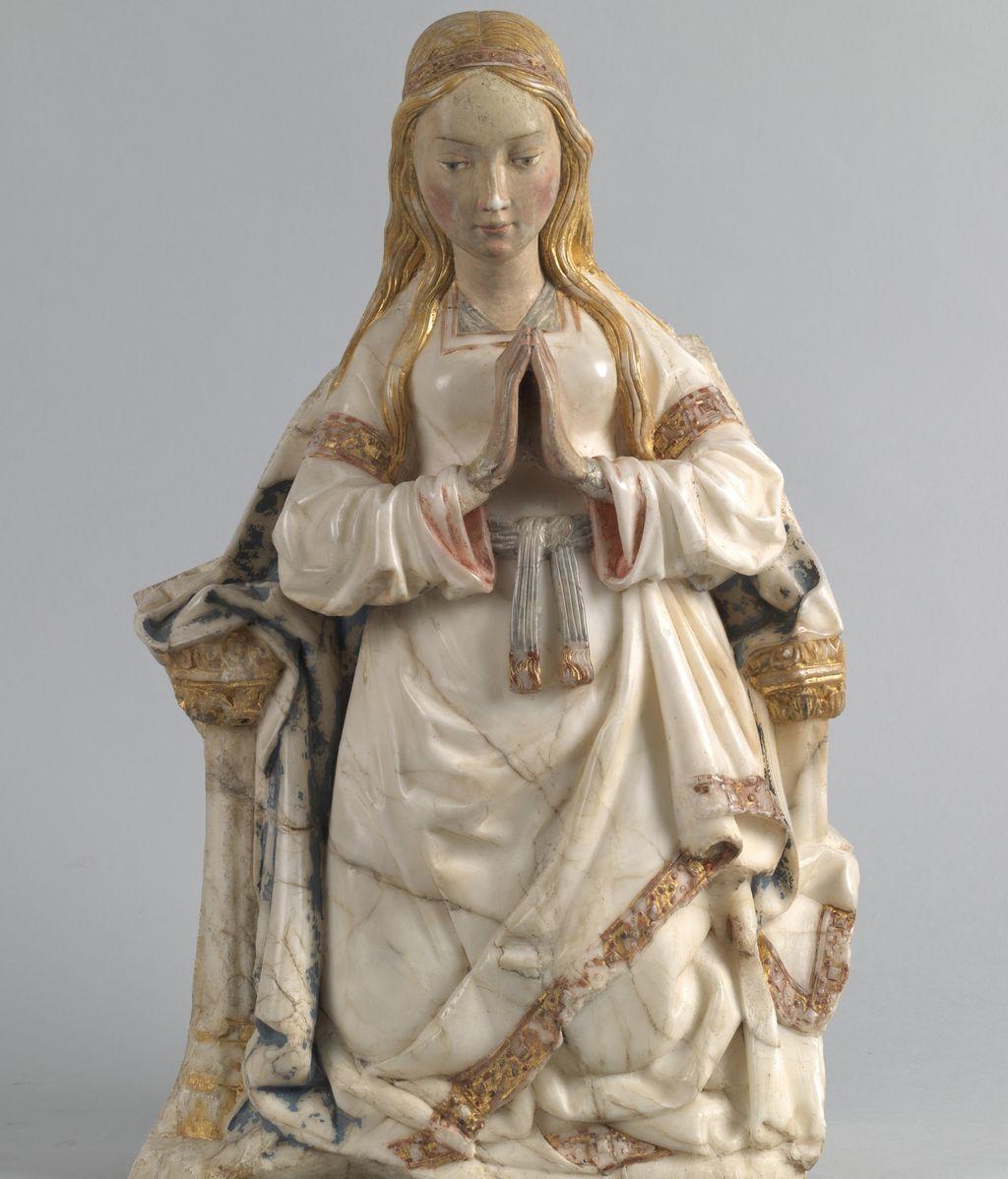 Talla de Virgen
