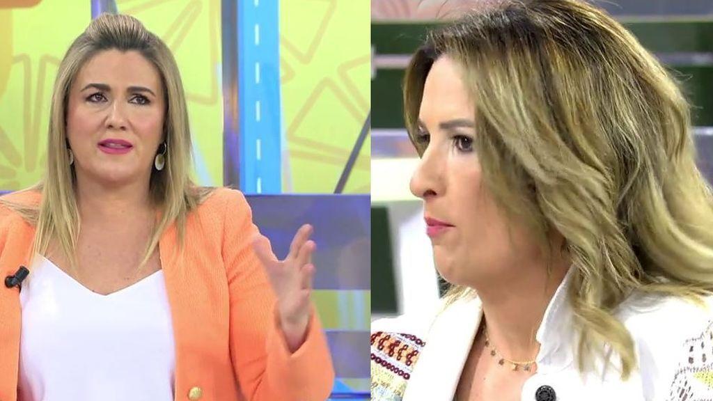 Carlota Corredera llama la atención a Laura Fa por un hiriente comentario a Kiko Jiménez