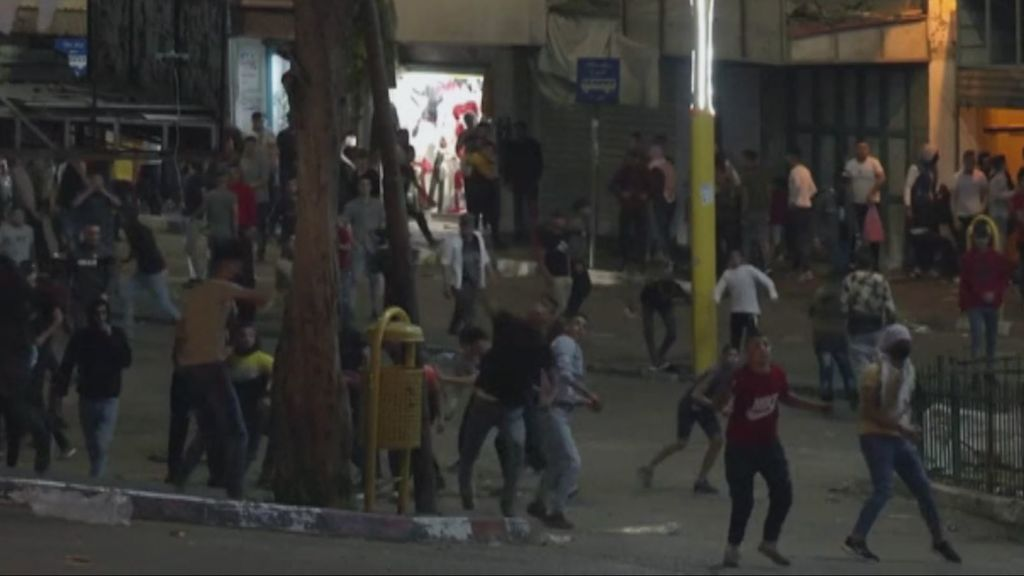 Conatos de linchamientos en las calles de Israel y Cisjordania
