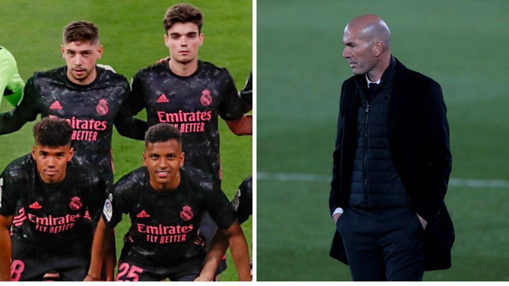 El aviso a navegantes de Zidane: no le temblará el pulso a la hora de poner a los canteranos