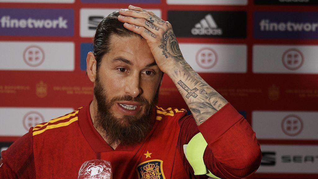 Sergio Ramos es la gran duda de Luis Enrique: sin apenas minutos y con la cabeza en su renovación puede caerse de la Eurocopa