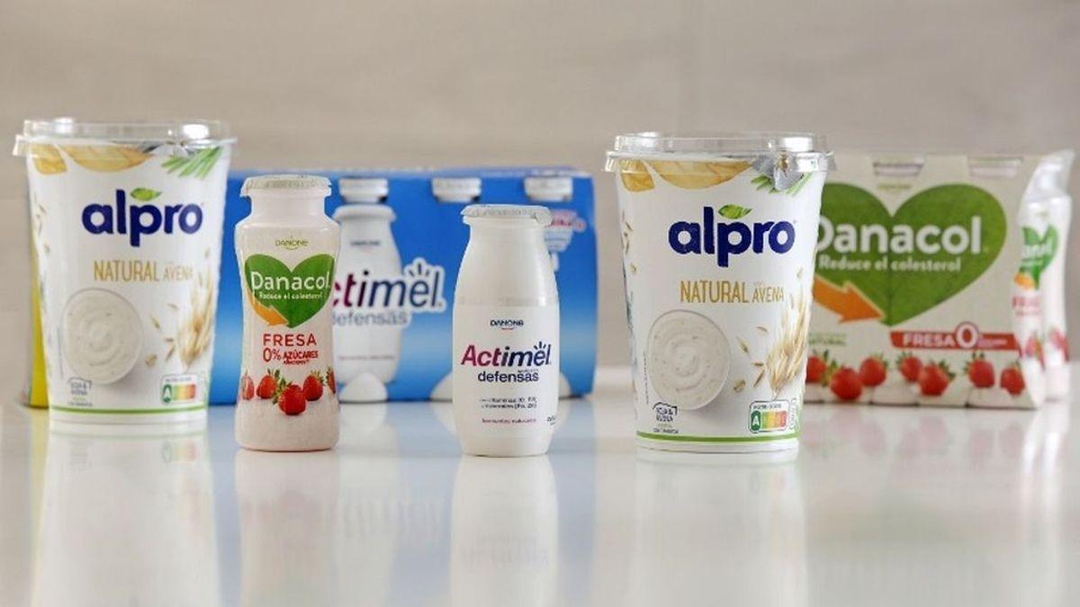 Danone cambia la fecha de caducidad por la de consumo preferente en sus yogures