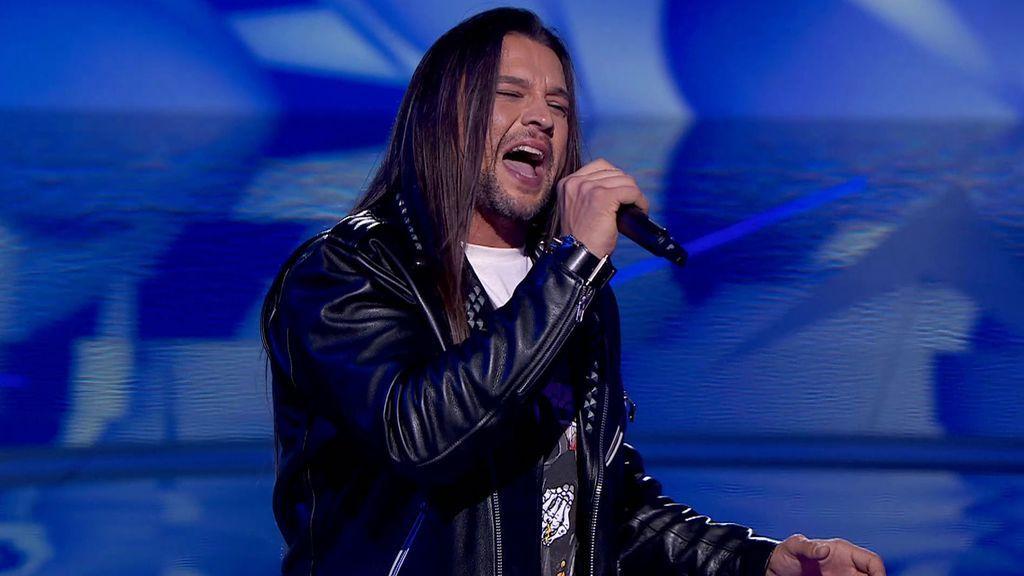 Rafa Blas regresa con la versión heavy de una balada de Pastora Soler