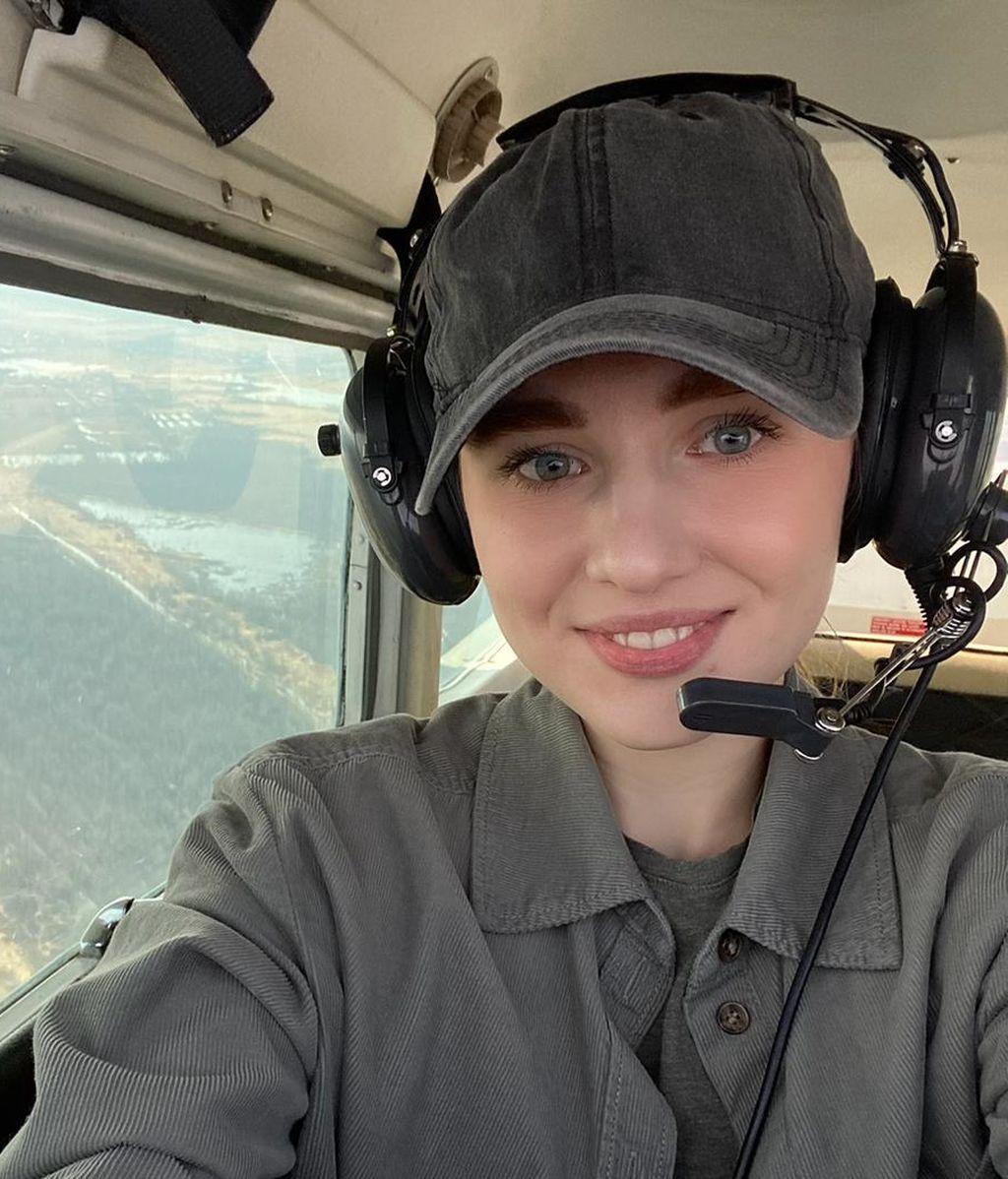 la piloto rusa Galina Kairova
