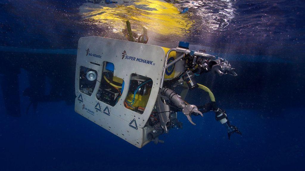 robot submarino tenerife